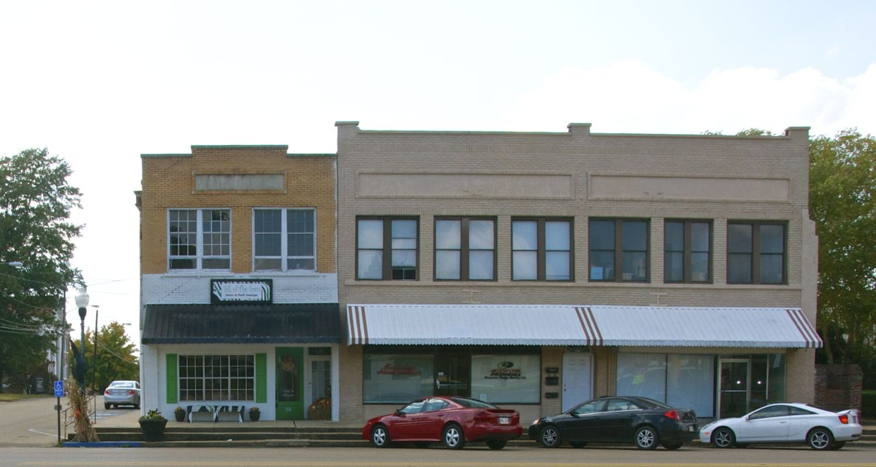 Pontotoc Storefronts on Mississippi Home Floor Plans