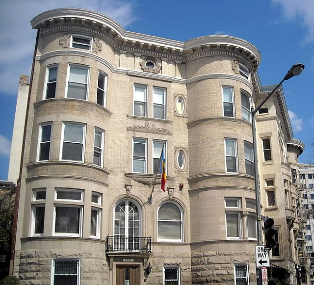 Source: AgnosticPreachersKid. Used with permission. Retrieved Januaray 1, 2013 from http://en.wikipedia.org/wiki/File:Embassy_of_Moldova_(Washington,_D.C.).JPG#filelinks