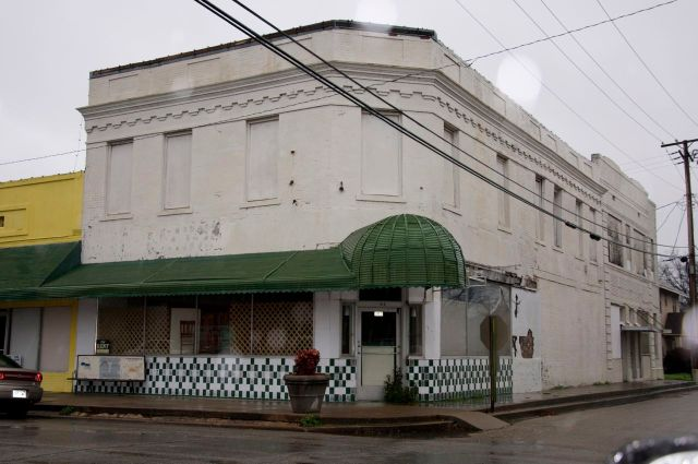 awning and tile