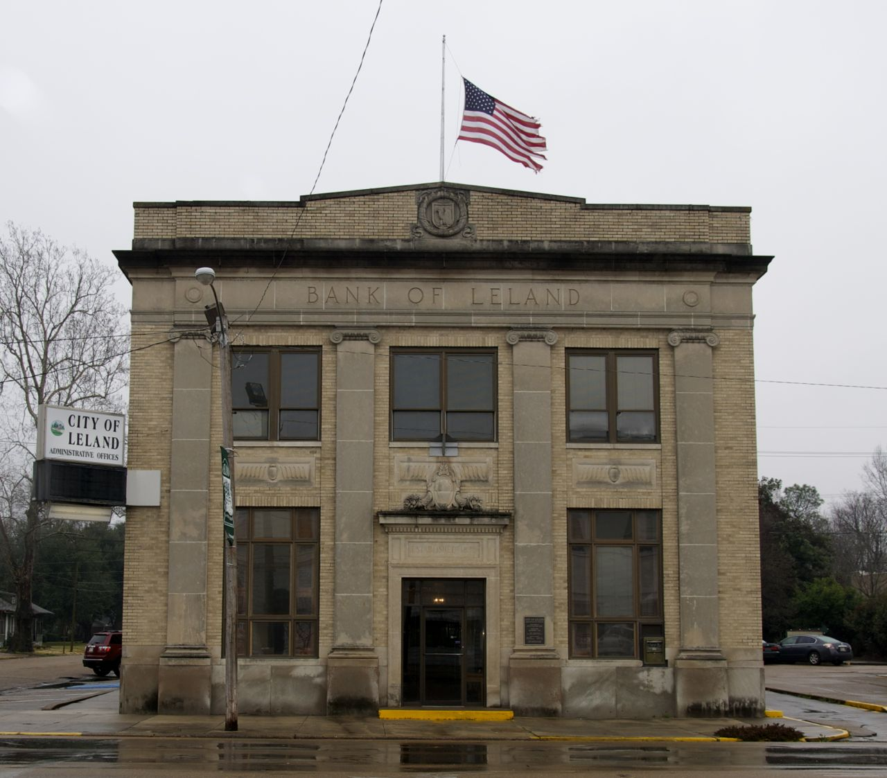 Check Out The Details On Former Bank Of Leland Building At Link To Lottabusha County Chronicles