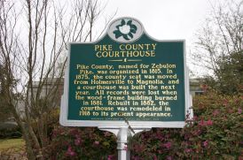 Mississippi historic marker