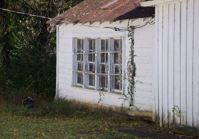 bank of windows