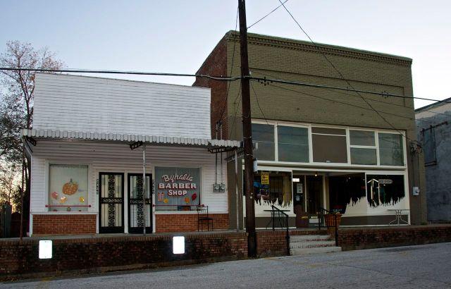 Byhalia barber shop