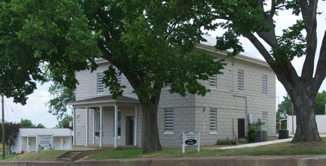 former jail front and side