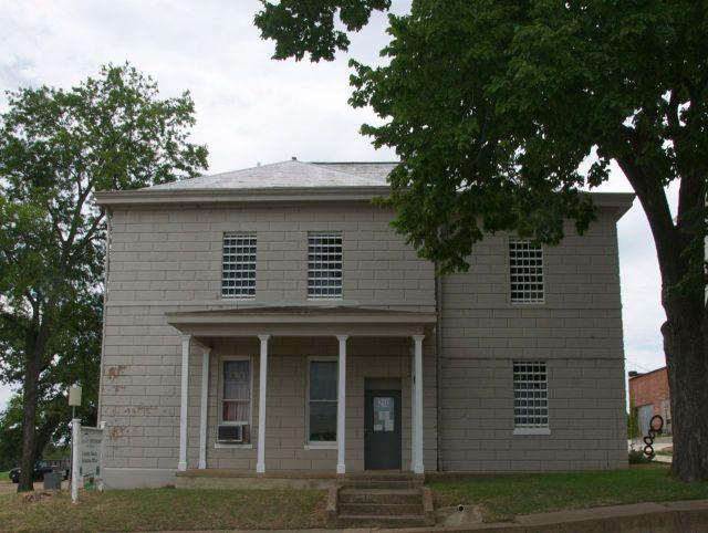 jail front elevation
