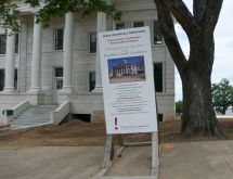 Texas courthouse preservation project
