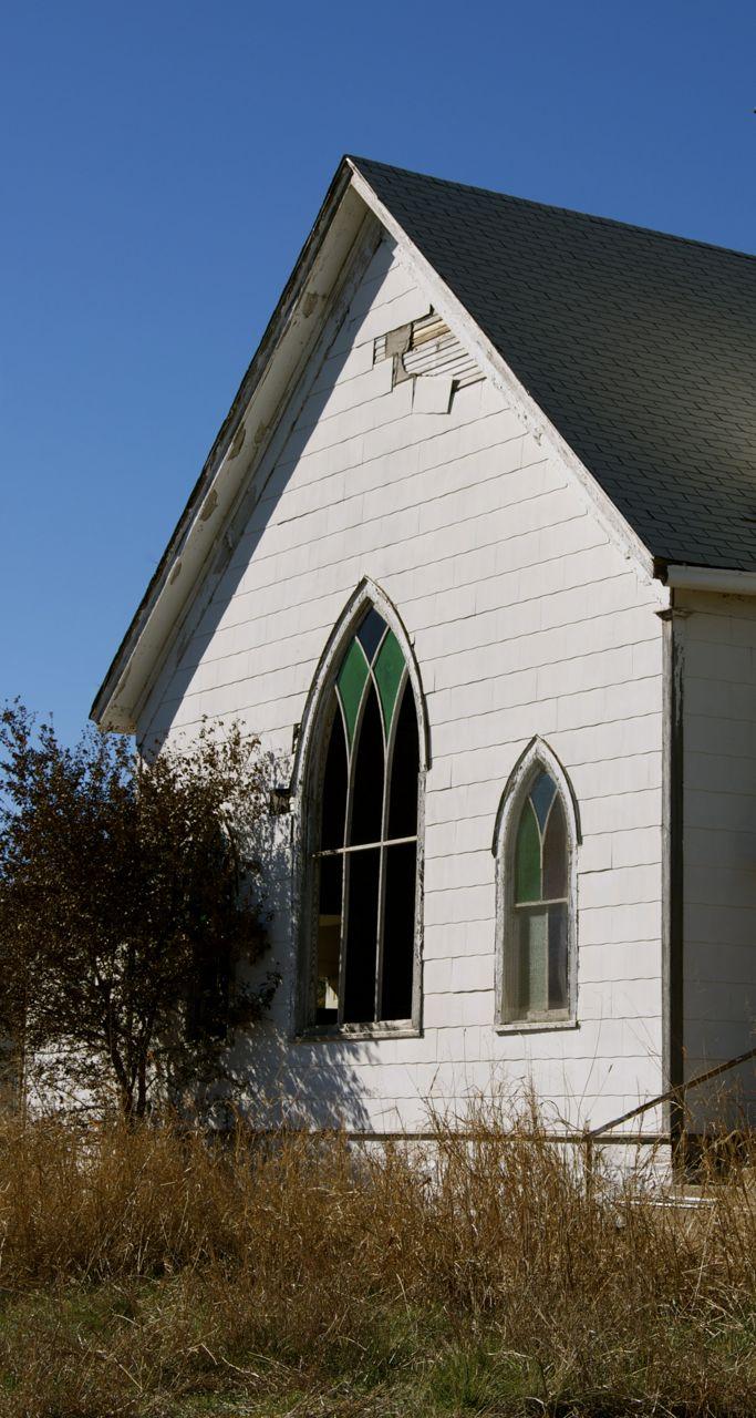 Jermyn Carpenter Gothic Methodist Church Suzassippi S