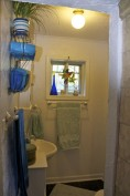 Master bath at completion
