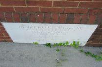 Lenoir City post office cornerstone
