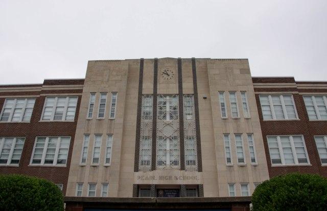 Pearl High School front facade