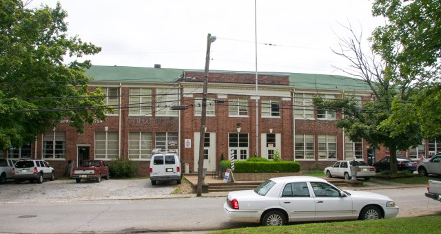 Spring Hill High School entrance