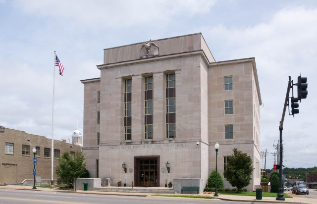 US Post Office and Courthouse front 2