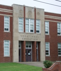 1945-47 Vocational building added