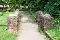 footbridge on walk