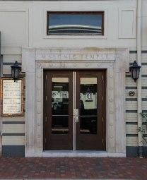 Masonic Temple doors