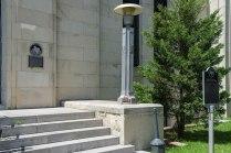 Van Zandt County Courthouse steps