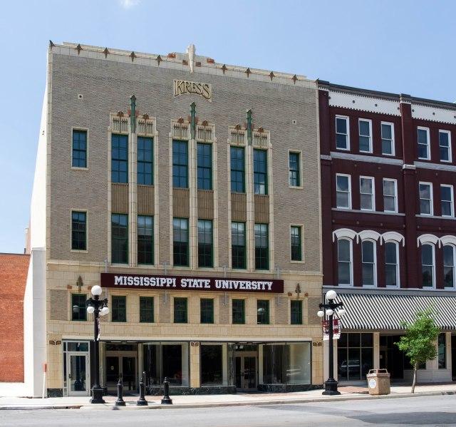 Kress building front facade