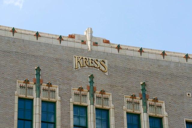 Kress detail closeup