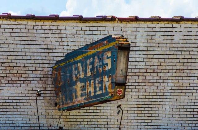 Stevens Kitchen sign