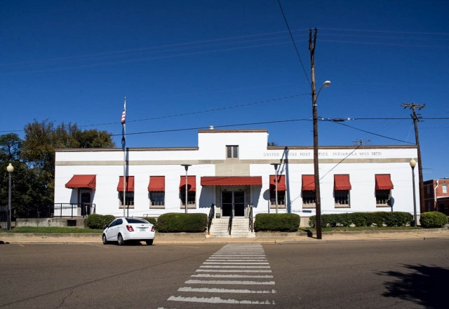 Indianola Post Office front elevation