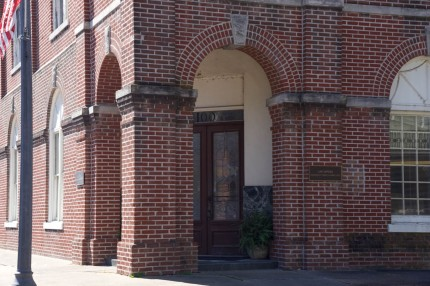 Sunflower Bank corner entrance