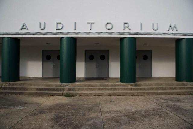 Auditorium columns