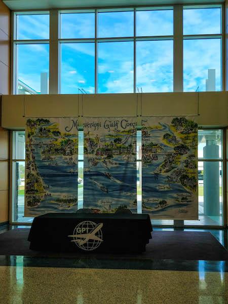 Gulf Coast mural airport