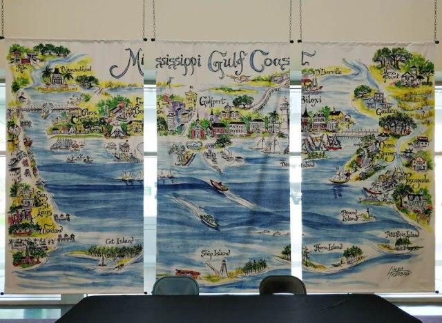 Gulf Coast mural
