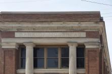 Detail, Bank of Moorhead building