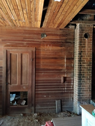 door in upper room