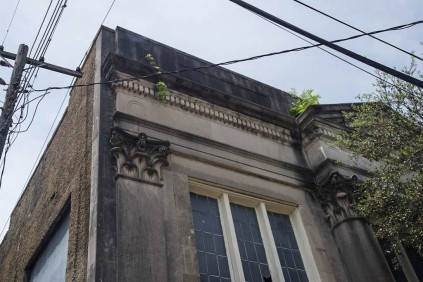 pilaster and column capitals