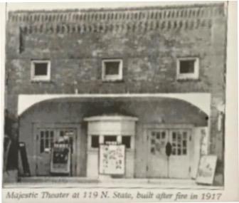 Rebuilt Majestic after 1917 fire
