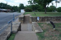 steps and retaining wall