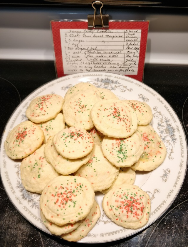 Cookies and recipe