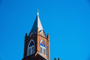 Holy Family steeple