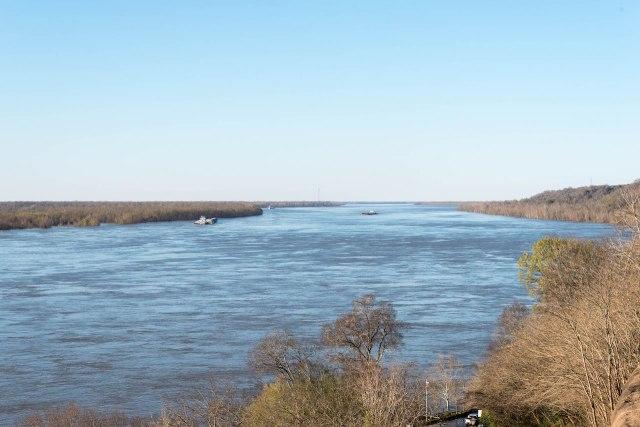 Mississippi River at Natchez 1