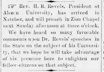 Natchez Democrat, Oct. 12, 1872