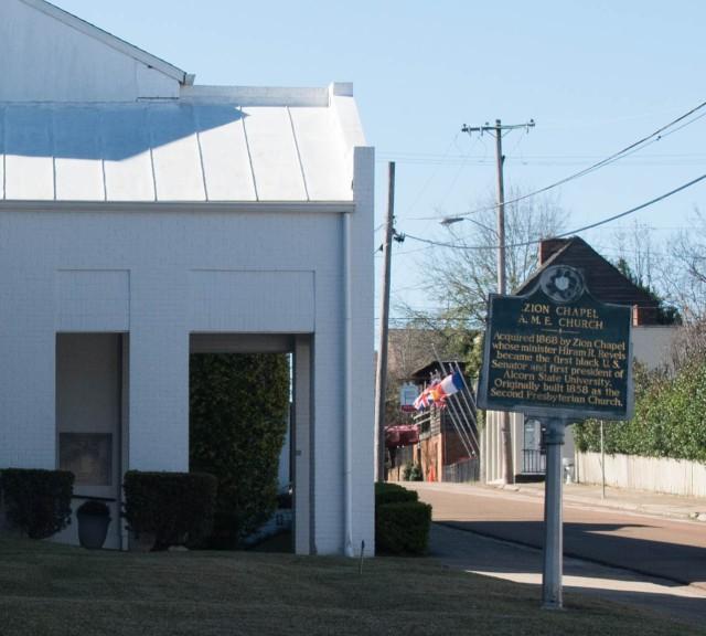 Zion Chapel marker