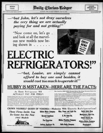Clarion-Ledger, May 19, 1935