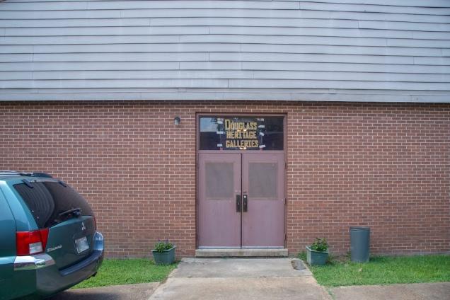 Douglass school East entrance