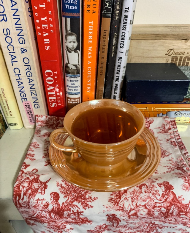 lapsang souchong in Peace Lustre