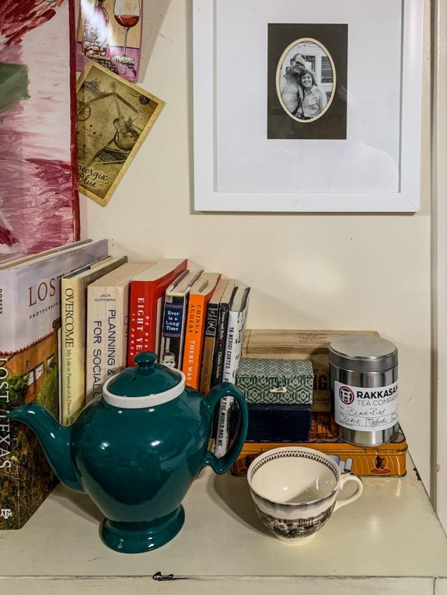 McCormick tea pot Johnson Bros San Franciso