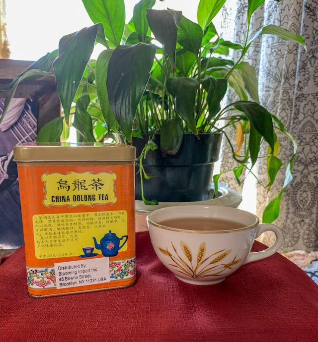 China Oolong Tea with wheat