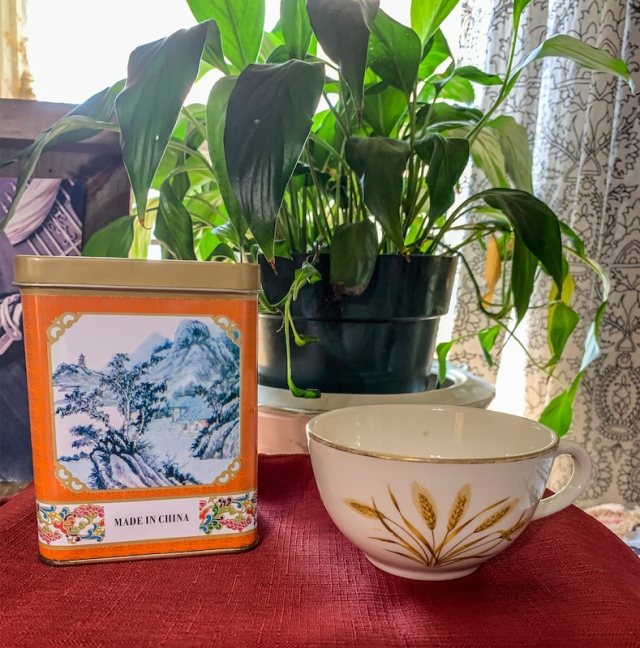 oolong and wheat cup