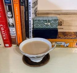 tea with warm milk
