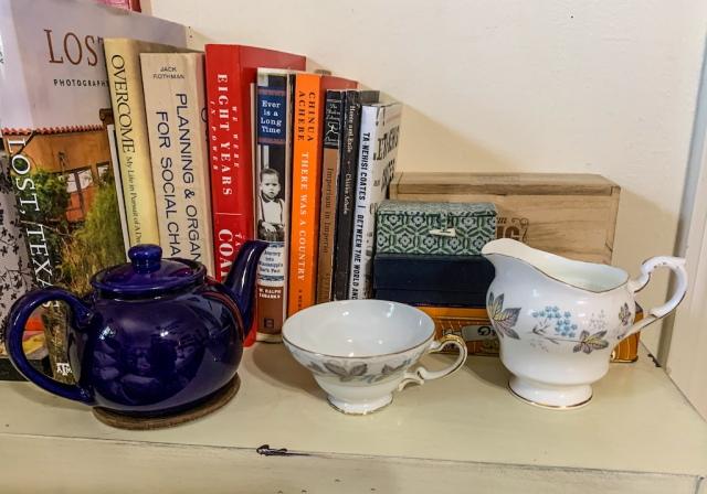 teapot cup creamer