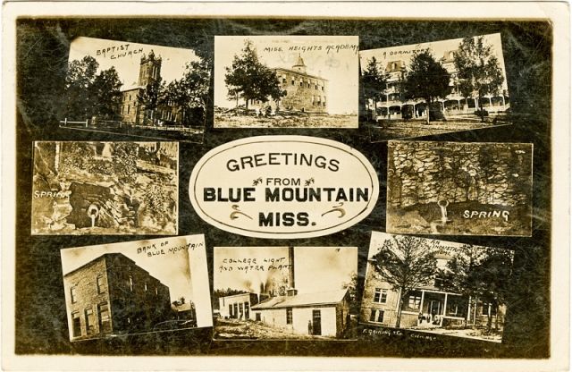Blue Mountain Postcard