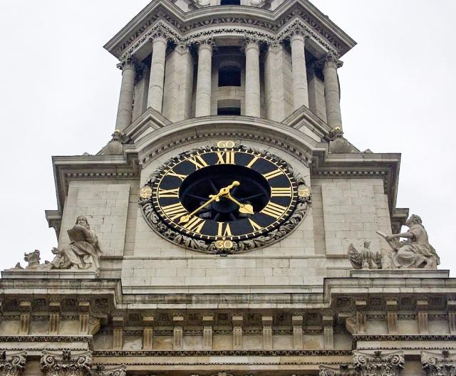 Clock St Paul
