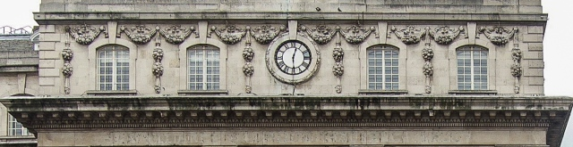 County Fire Office clock