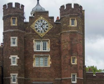 St James Palace turrets